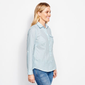 Classic Yarn-Dyed Striped Shirt -  image number 1