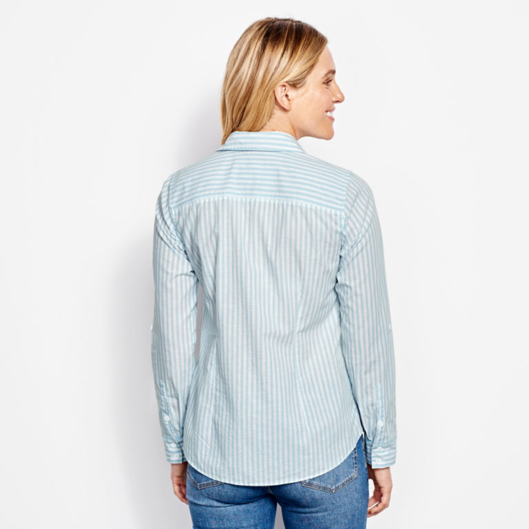 Classic Yarn-Dyed Striped Shirt -  image number 2