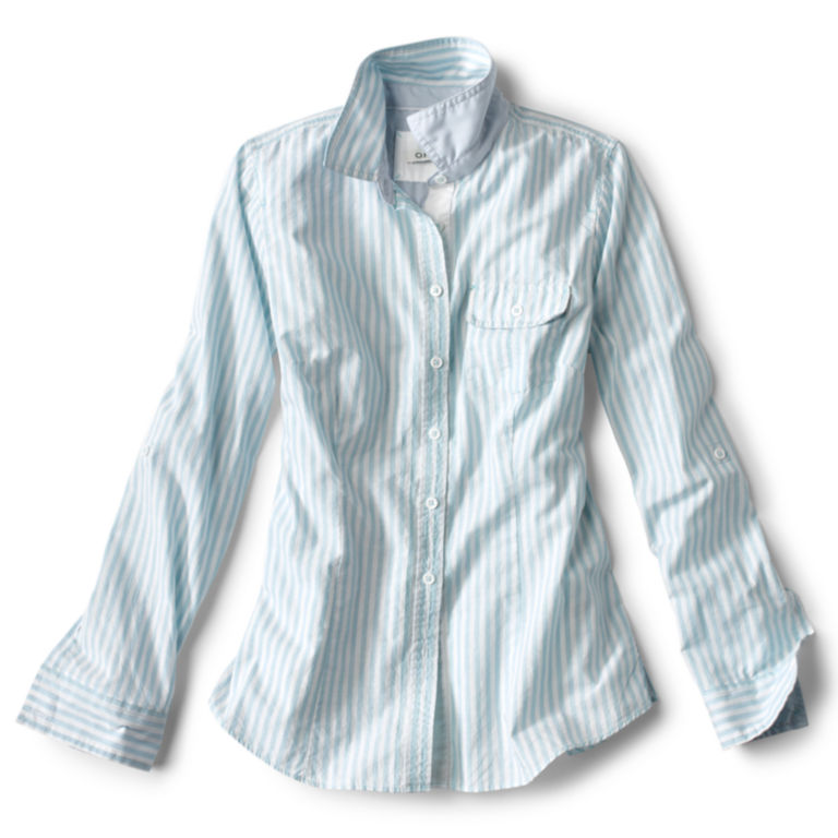 Classic Yarn-Dyed Striped Shirt -  image number 3