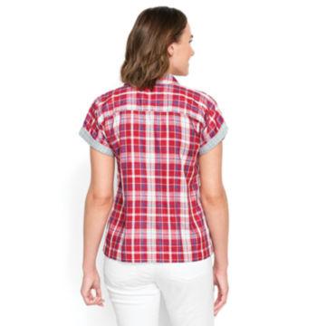 Short-Sleeved Dolman Double-Faced Shirt -  image number 1