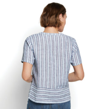Lightweight Linen Boxy Popover -  image number 2