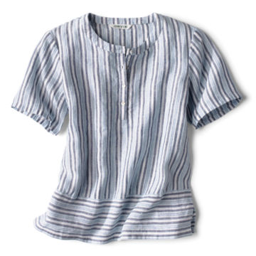 Lightweight Linen Boxy Popover -  image number 4