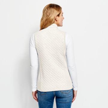 Quilted Sweatshirt Vest -  image number 2