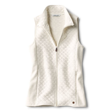Quilted Sweatshirt Vest -  image number 3