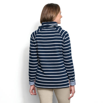 Organic Cotton French Terry Cowlneck Sweatshirt -  image number 2