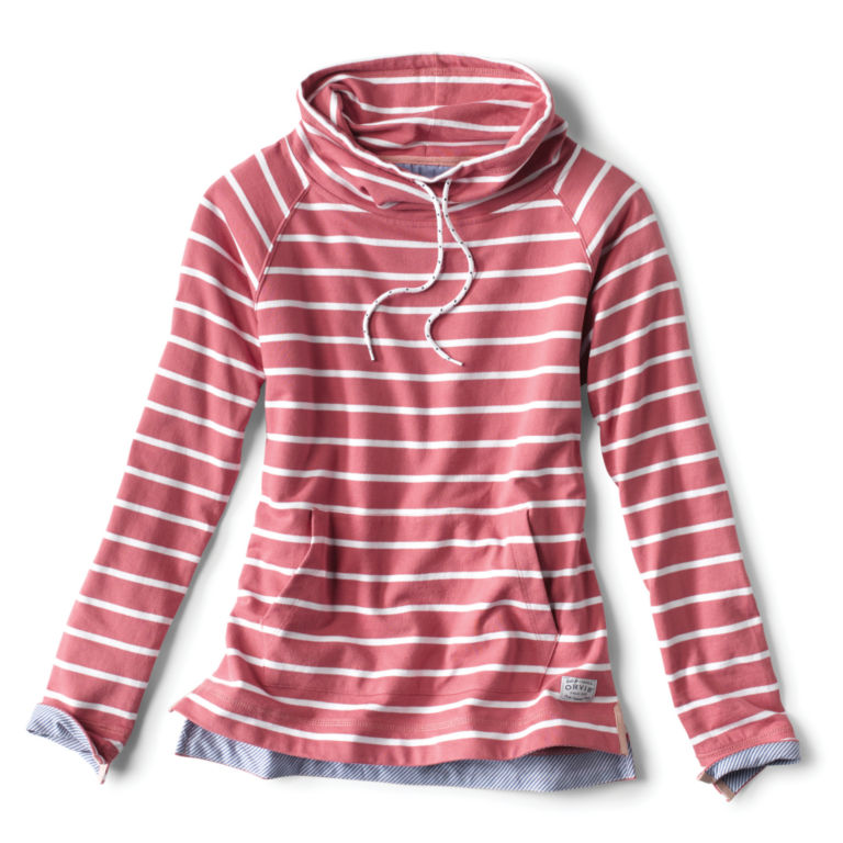 Organic Cotton French Terry Cowlneck Sweatshirt -  image number 0