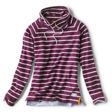 Organic Cotton French Terry Cowlneck Sweatshirt -