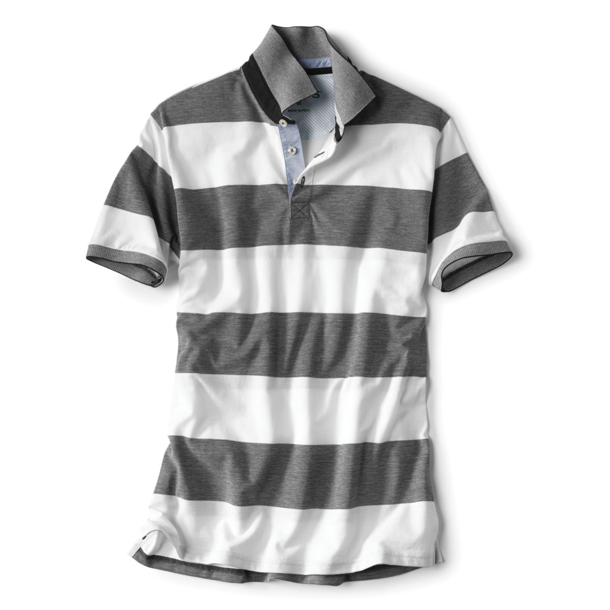 Rugby Stripe Piqué Polo - image number 0