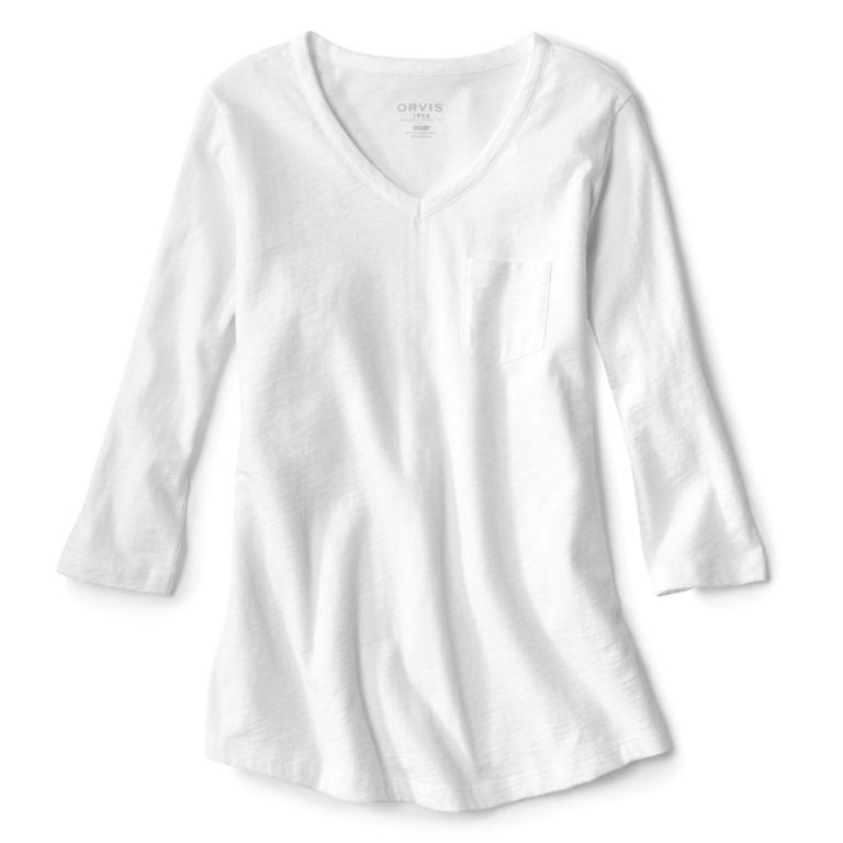 1856 Organic Cotton Three-Quarter-Sleeved Tee -  image number 0