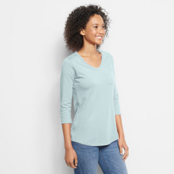 1856 Organic Cotton Three-Quarter-Sleeved Tee -  image number 1