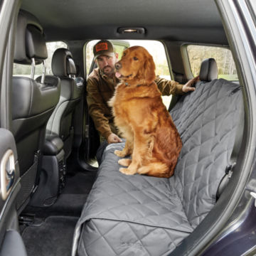 Grip-Tight®  Quilted Hose-Off Backseat Protector -  image number 0