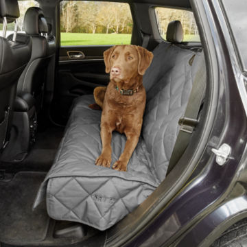 Grip-Tight®  Quilted Hose-Off Backseat Protector -  image number 1