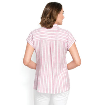 Dolman Striped Camp Shirt -  image number 1
