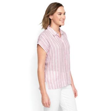 Dolman Striped Camp Shirt -  image number 2