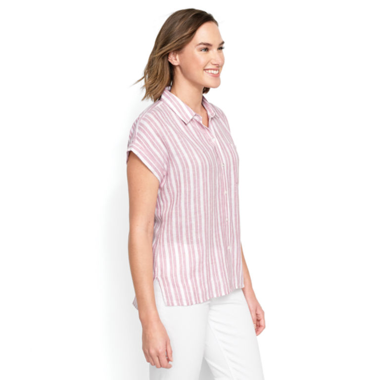Dolman Striped Camp Shirt -  image number 2