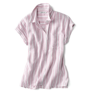 Dolman Striped Camp Shirt -  image number 3