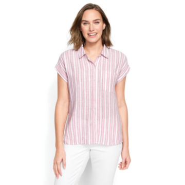 Dolman Striped Camp Shirt - image number 0