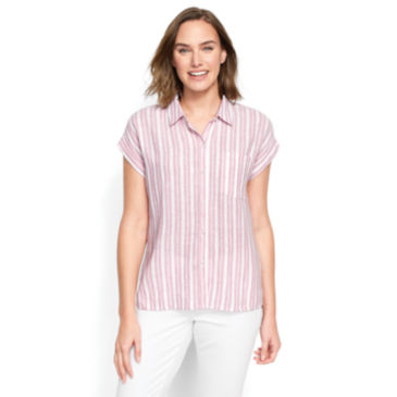 Dolman Striped Camp Shirt -