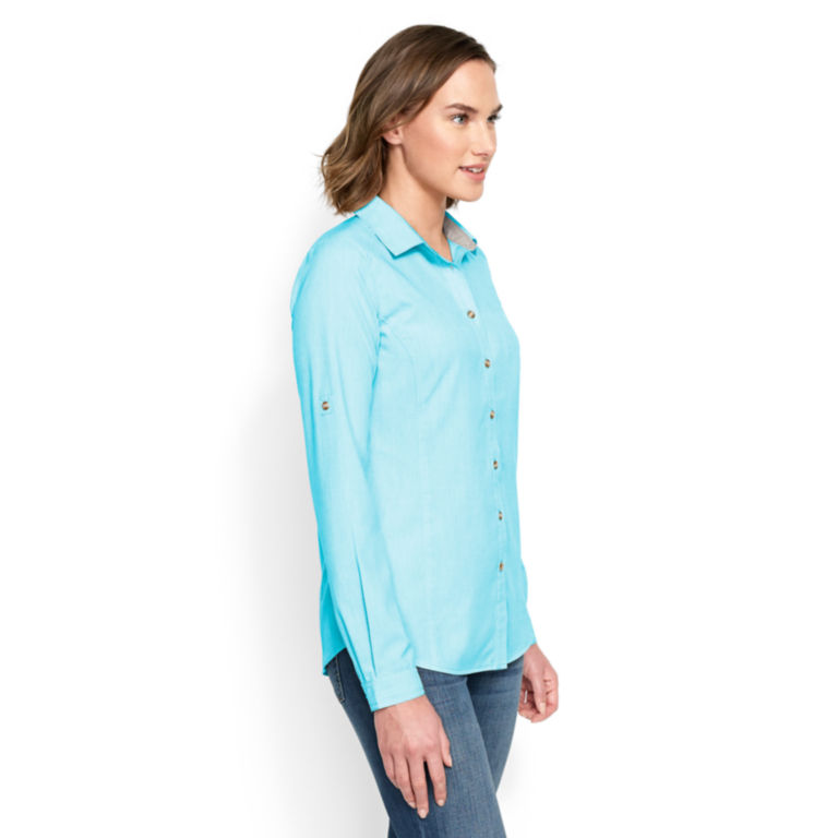 Outsmart®  Tech Chambray Shirt -  image number 1
