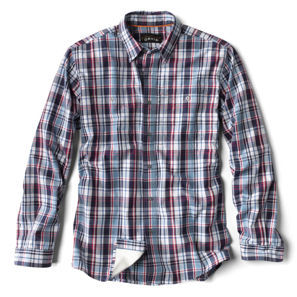 Flat Creek Plaid Shirt - R/W/B PLAIDimage number 0