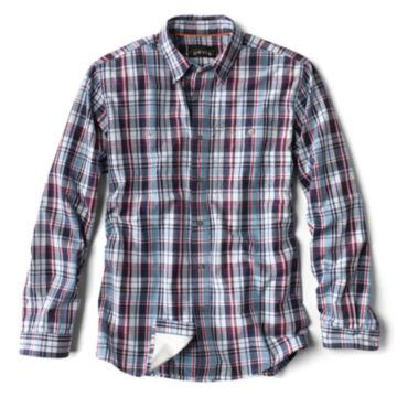 Flat Creek Plaid Shirt - R/W/B PLAID image number 0