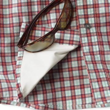Flat Creek Plaid Shirt - RED PLAID image number 1