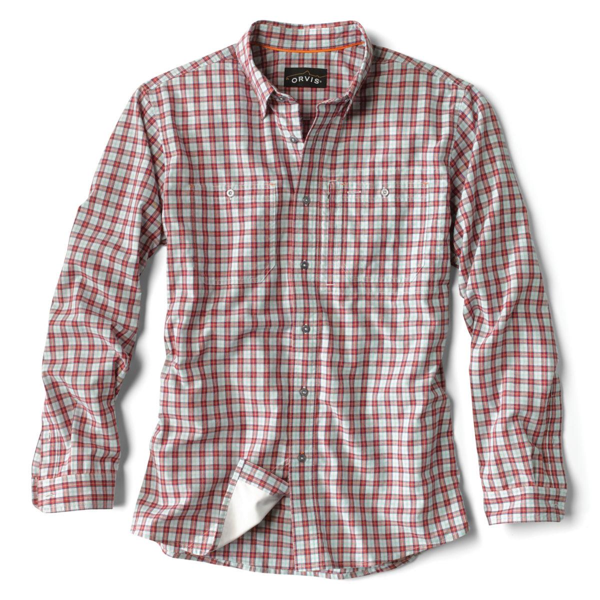 Flat Creek Plaid Shirt - RED PLAIDimage number 0