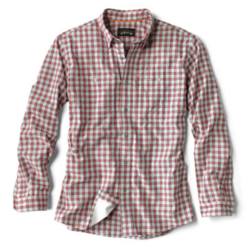 Flat Creek Plaid Shirt - RED PLAID image number 0