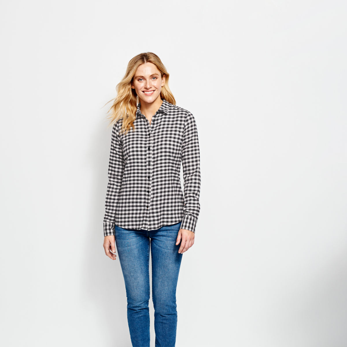 Women's Tech Check Flannel Shirt - image number 0