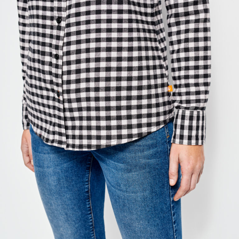Women's Tech Check Flannel Shirt -  image number 3