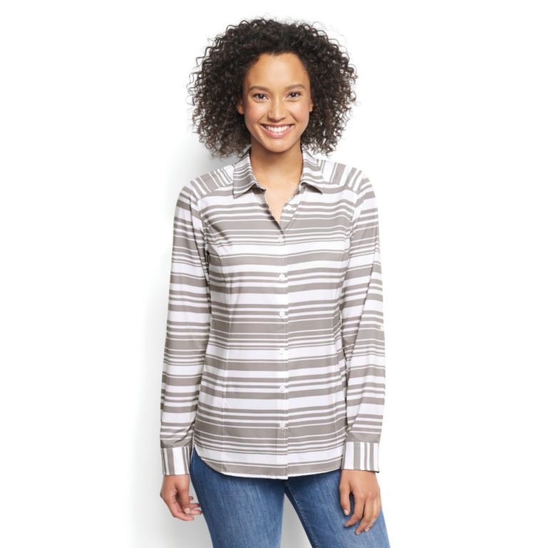 Printed Pack-And-Go Long-Sleeved Shirt -  image number 0