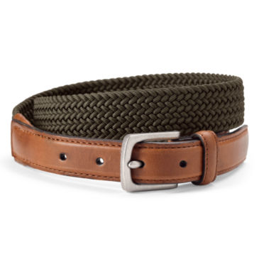 Braided Stretch Cord Belt -