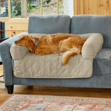 Grip-Tight® Bolstered Sofa Protector -  image number 0