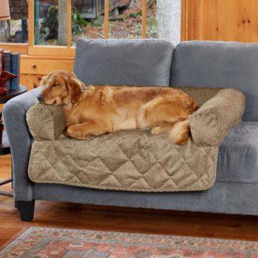 Grip-Tight® Bolstered Sofa Protector -