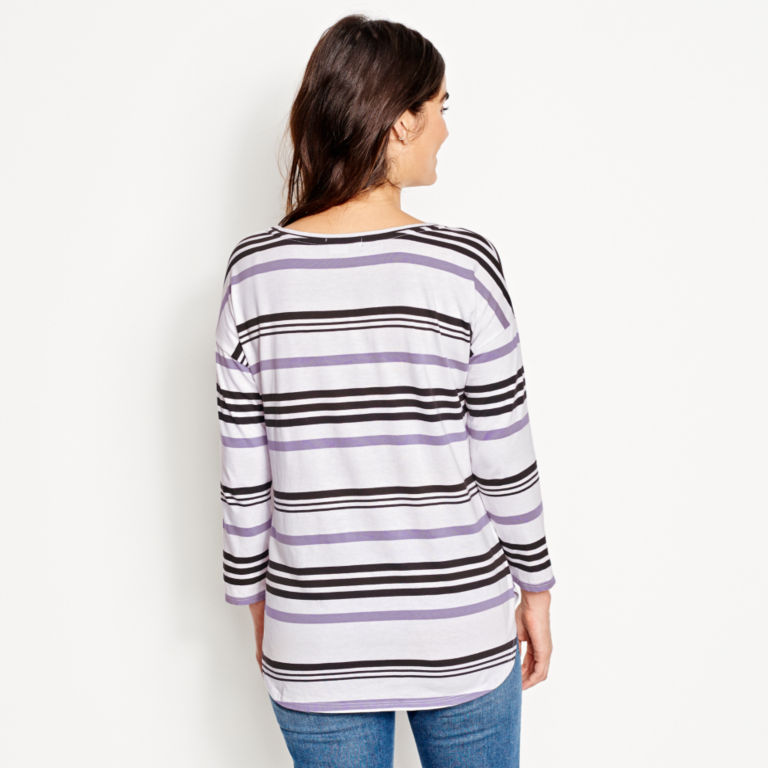 Supersoft Striped Tee -  image number 2