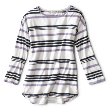 Supersoft Striped Tee -  image number 3