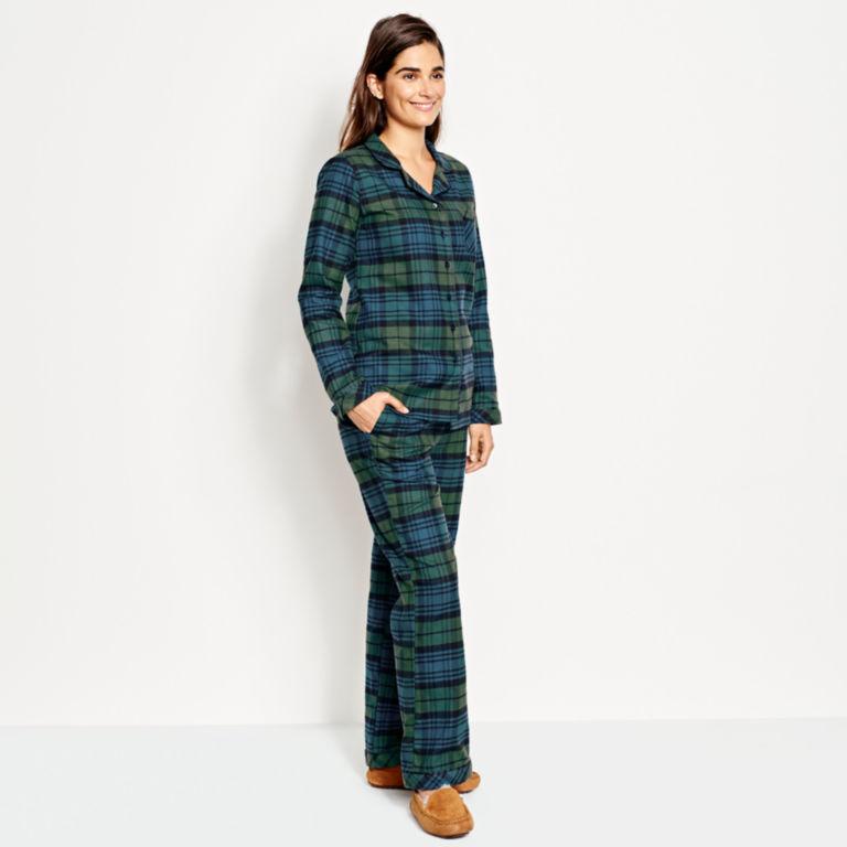 Fireside Flannel PJ Set -  image number 1