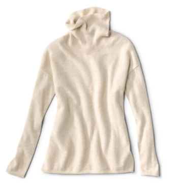 Natural Cashmere Cowlneck Sweater -  image number 5