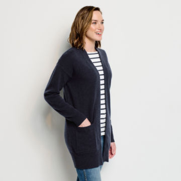 Cashmere Open Front Cardigan Sweater -  image number 1