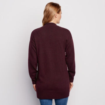 Cashmere Open Front Cardigan Sweater -  image number 2