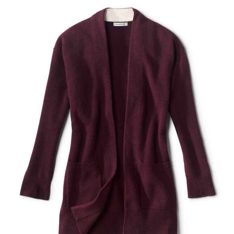 Cashmere Open Front Cardigan Sweater -  image number 3