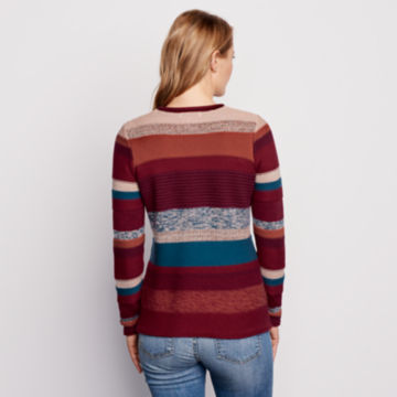 Mixed Stripe Roll Neck Sweater -  image number 2