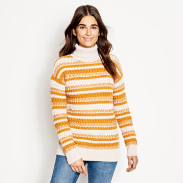Merino Striped Tunic Sweater -  image number 0