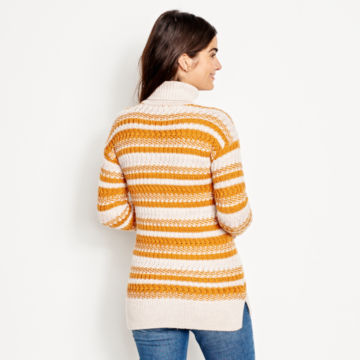 Merino Striped Tunic Sweater -  image number 2