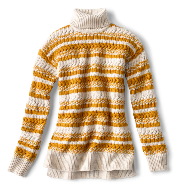 Merino Striped Tunic Sweater -  image number 5