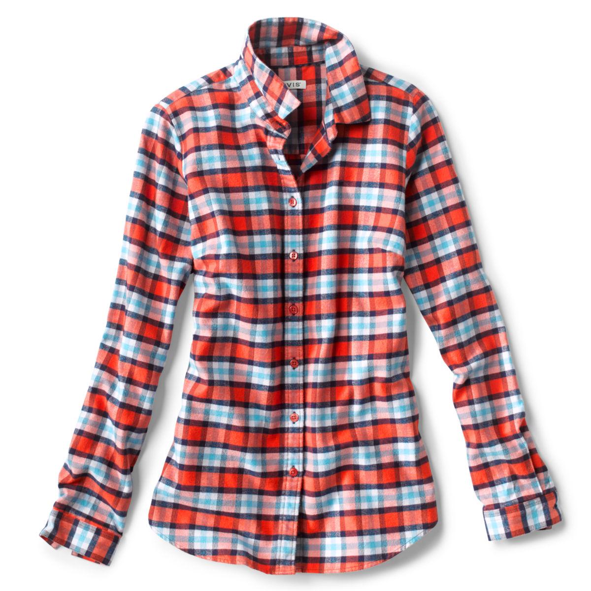 Lodge Flannel Plaid Shirt - image number 0