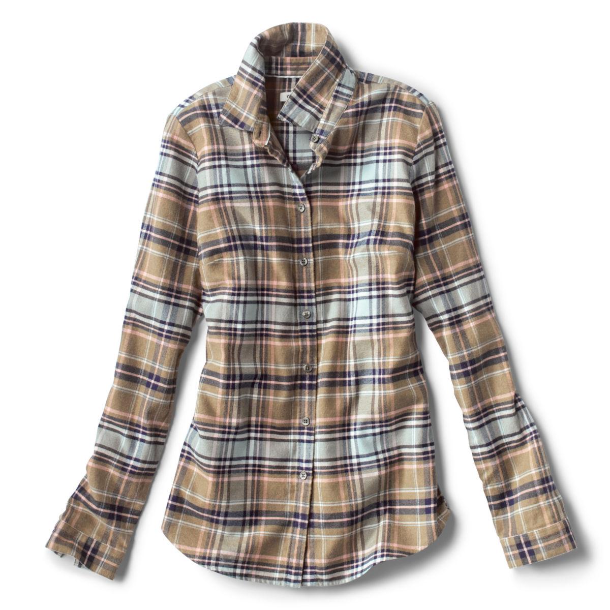 Lodge Flannel Plaid Shirt - SOFT SAGE PLAIDimage number 0