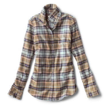 Lodge Flannel Plaid Shirt -