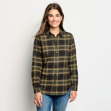 Lodge Flannel Plaid Shirt -  image number 1