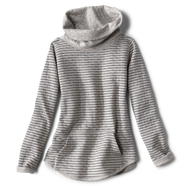 Double Faced Quilted Cowl Sweatshirt -  image number 1